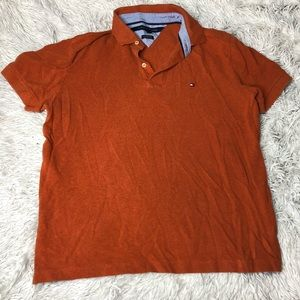 Men's Custom Fit Orange Polo!
